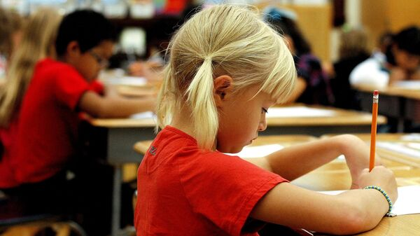 Ученики начальной школы в США
