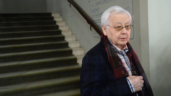 Художественный руководитель МХТ имени А.П. Чехова Олег Табаков. Архивное фото