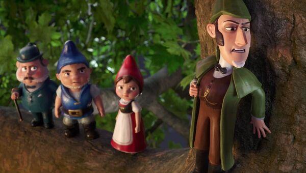 Кадр из мультфильма Шерлок Гномс