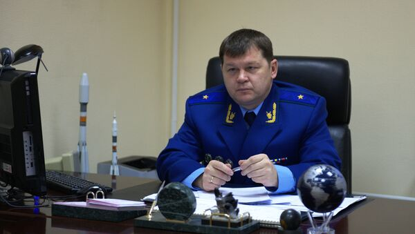 Заместитель московского межрегионального транспортного прокурора Олег Опёнышев