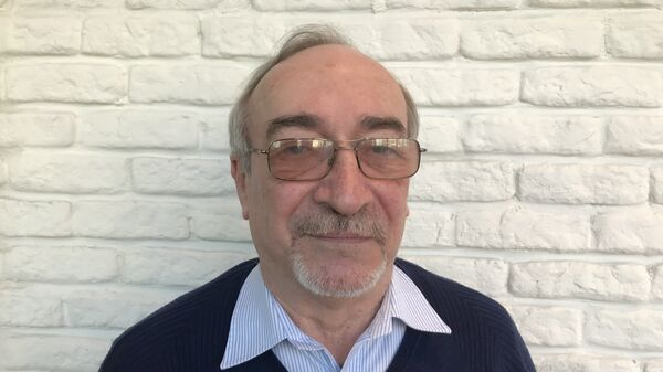 Доктор химических наук, профессор Леонид Ринк