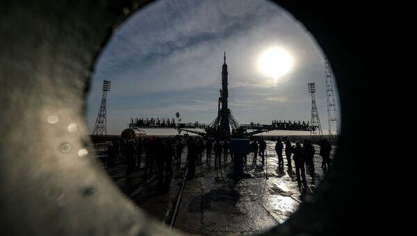 Вывоз ракеты-носителя. Архивное фото