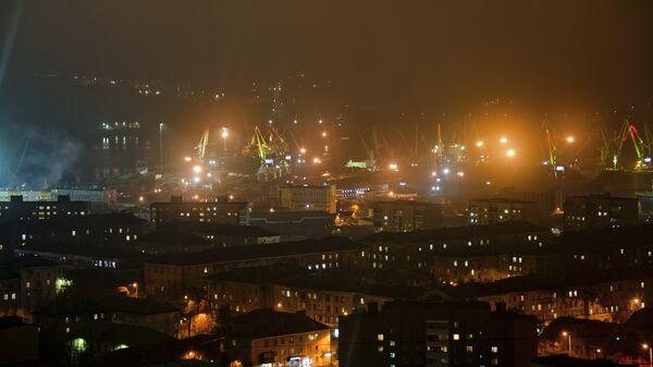 Мурманский морской порт