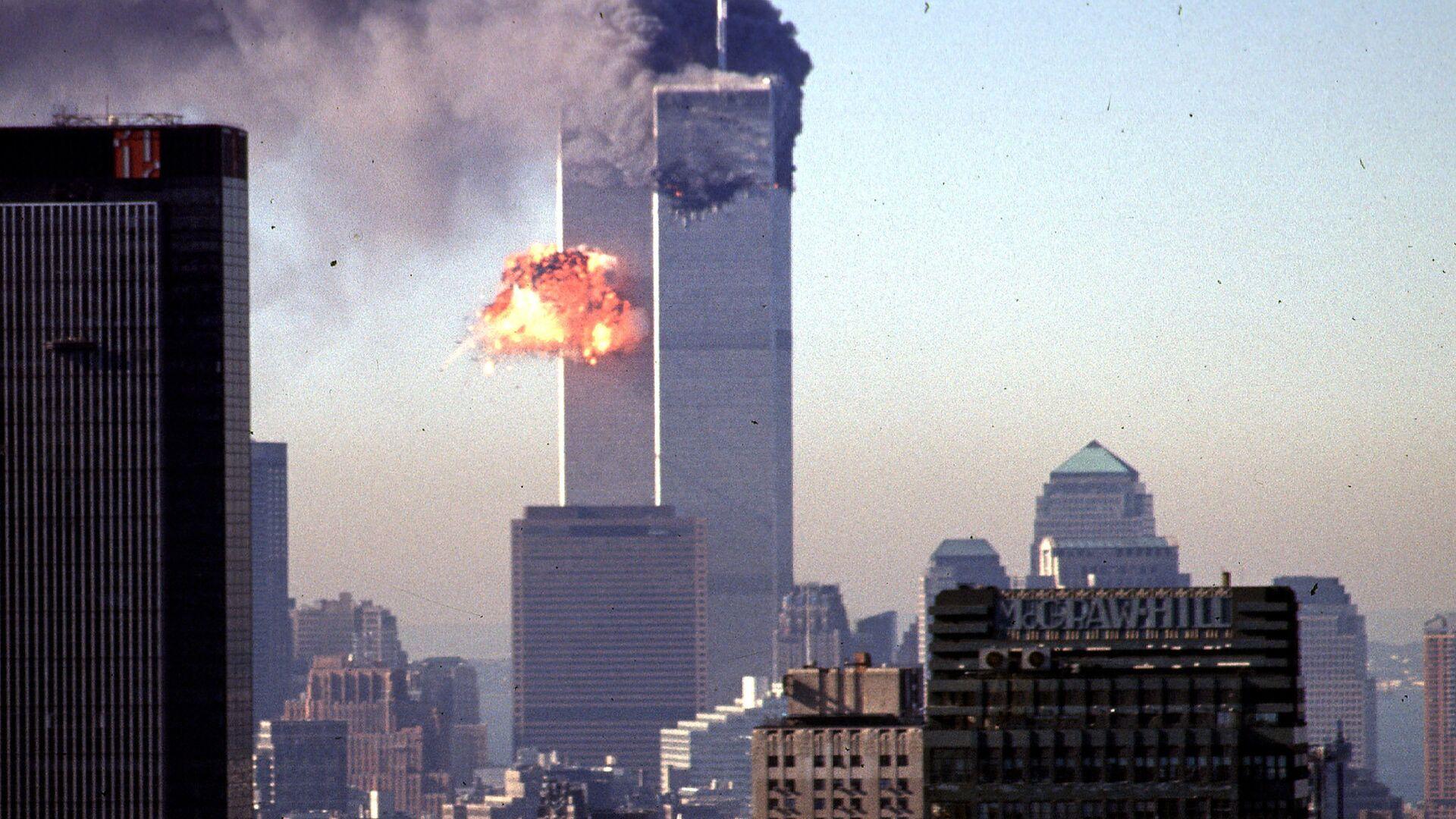 Террористический акт 11 сентября 2001 года в Нью-Йорке - РИА Новости, 1920, 05.09.2021