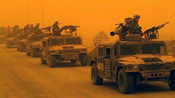 Разведывательно-дозорный батальон 1-й дивизии морской пехоты США в Ираке