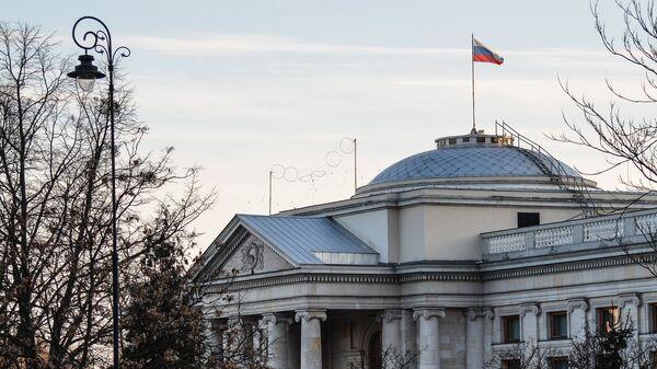 Здание посольства РФ в Варшаве