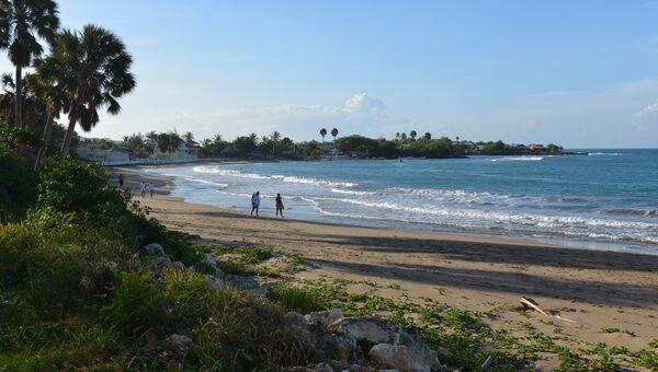 Пляж на Ямайке. Архивное фото