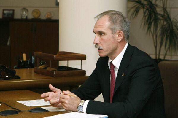 Губернатор Ульяновской области Сергей Морозов. Архив