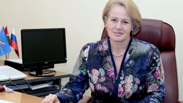 Председатель Федерации профсоюзов Татарстана Татьяна Водопьянова. Архивное фото