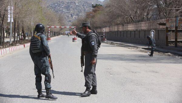 Полиция в Афганистане. Архивное фото