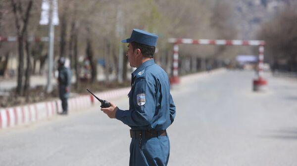 Полиция патрулирует улицы в Афганистане. Архивное фото