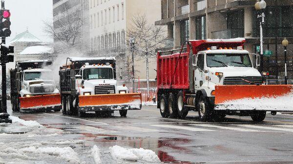Снегопад в Вашингтоне. Архивное фото