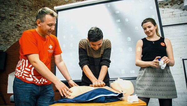 Волонтеры пройдут курсы по медицинскому обеспечению спортивных мероприятий