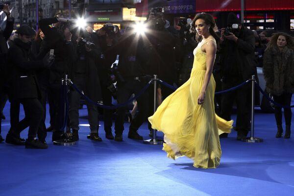 Актриса Ханна Джон-Кэймен на премьере фильма Первому игроку приготовиться в Лондоне