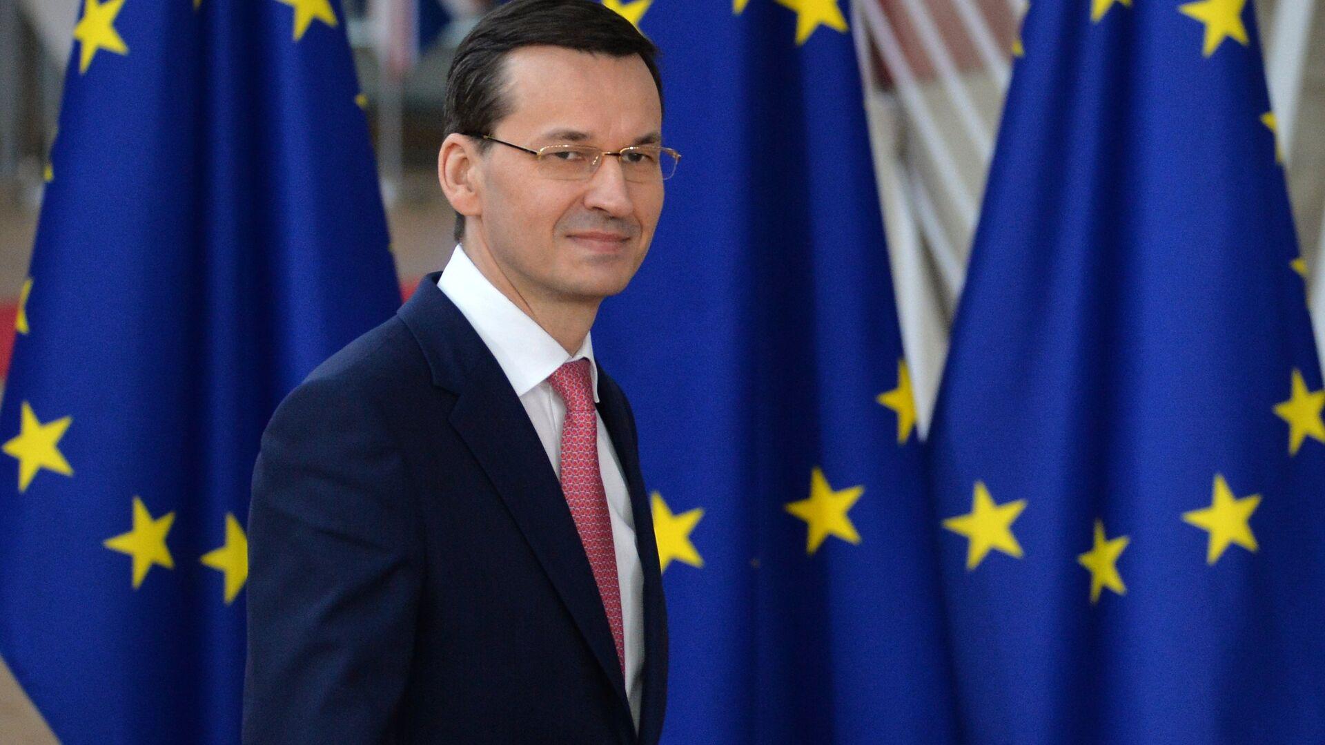 Премьер Моравецкий призвал гарантировать транзит российского газа через Польшу и Украину
