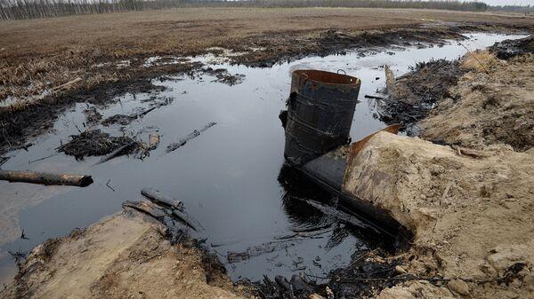 Фильтр для очистки загрязненной нефтью воды