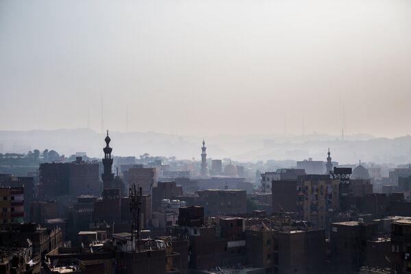 Мечети и дома в Старом городе Каира
