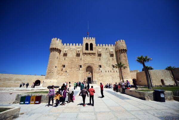 Форт Кайт-Бей в Александрии, Египет
