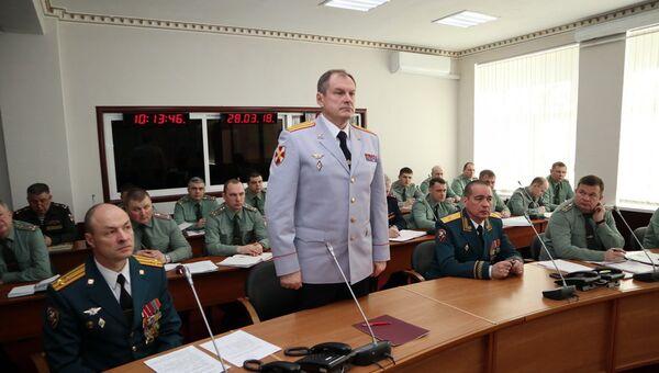 Начальником Главного управления Росгвардии по Москве назначен полковник Михаил Воробьёв