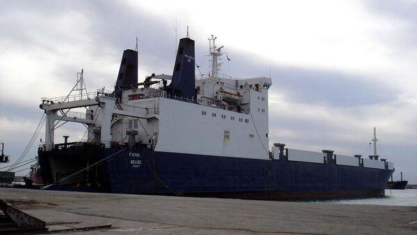 Украинское судно Фаина