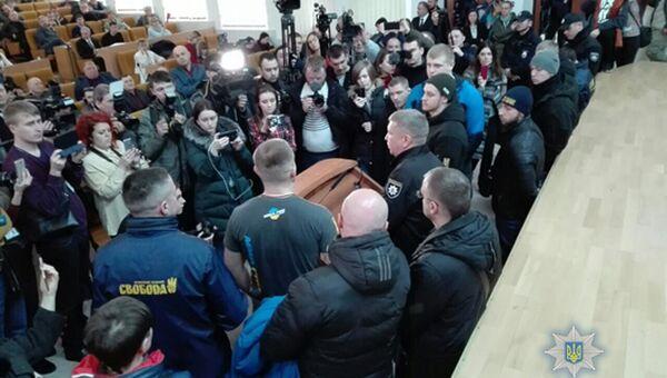Ситуация в Николаевском областном совете. 29 марта 2018