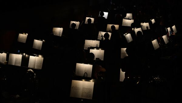Оркестр Новосибирского оперного театра.