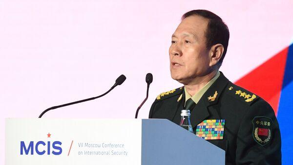 Министр обороны КНР, генерал-полковник Вэй Фэнхэ