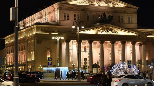 Здание Государственного Академического Большого театра в Москве