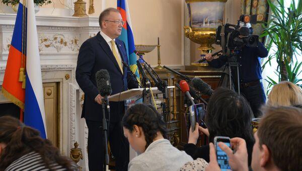 Чрезвычайный и полномочный посол РФ в Великобритании Александр Яковенко. Архивное фото