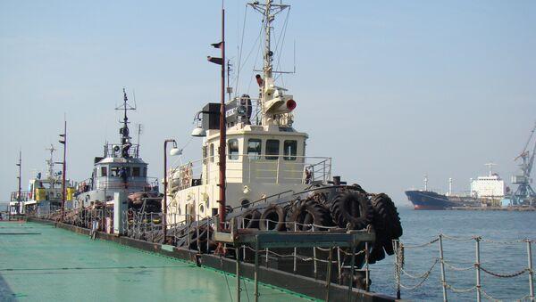 Буксиры в Бердянском порту