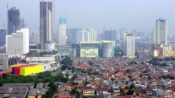 Джакарта. Индонезия. Архивное фото