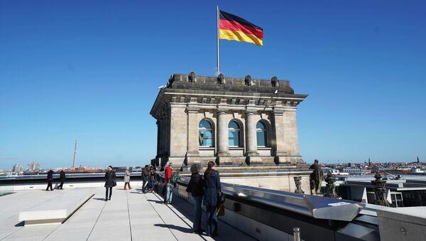 Рейхстаг в Берлине, Германия. Архивное фото