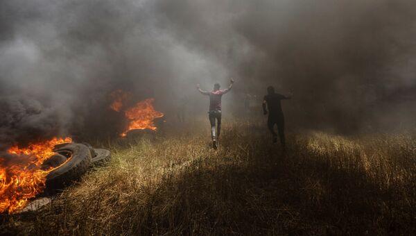 На границе сектора Газа и Израиля. Архивное фото