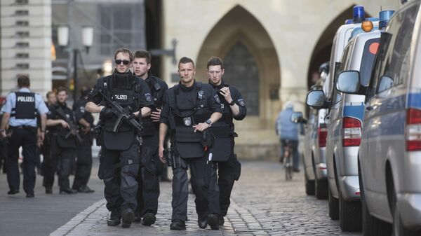 Полицейские в Германии