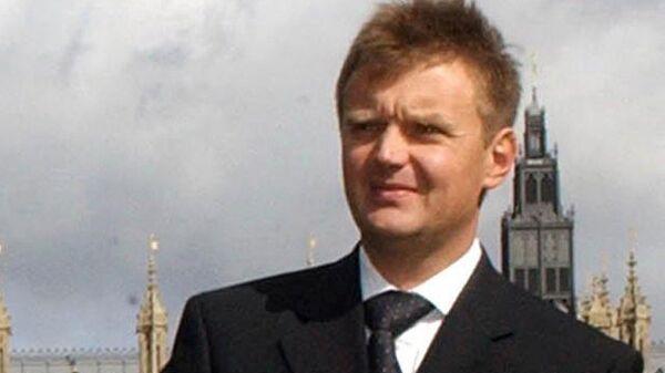Александр Литвиненко в Лондоне