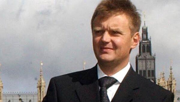 Александр Литвиненко в Лондоне. Архивное фото