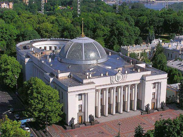 Украинский парламент, Здание Верховного Совета Украины