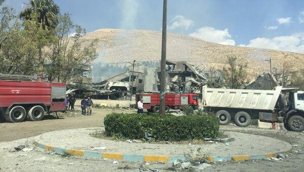 Исследовательский военный центр в Барза, Сирия