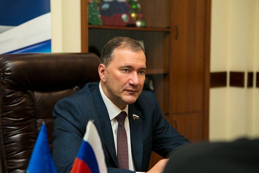 Депутат Государственной думы Российской Федерации VII созыва Дмитрий Белик