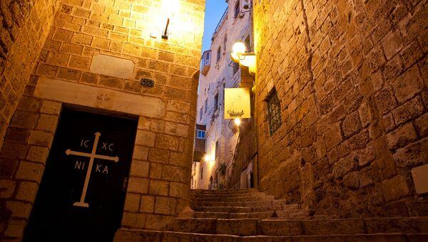 Аллея в Старом Яффе