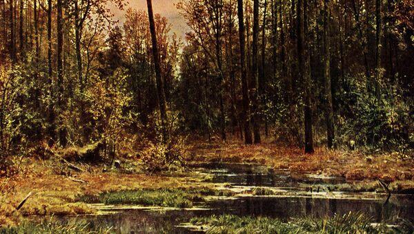Лес весной. 1884. Серпуховской художественно-исторический музей