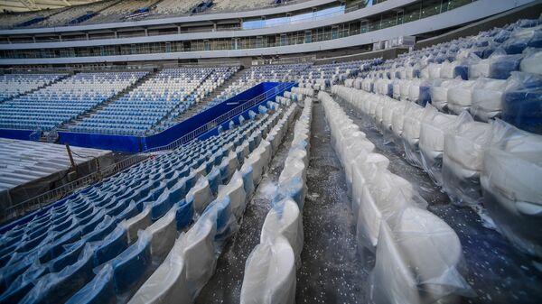 Трибуны на стадионе Самара Арена