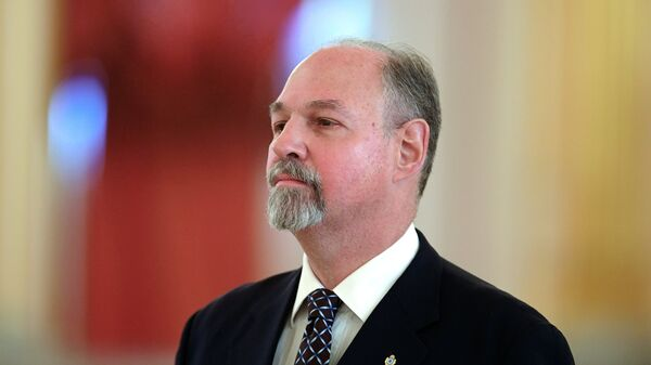 Чрезвычайный и полномочный посол Аргентинской Республики Рикардо Эрнесто Лагорио