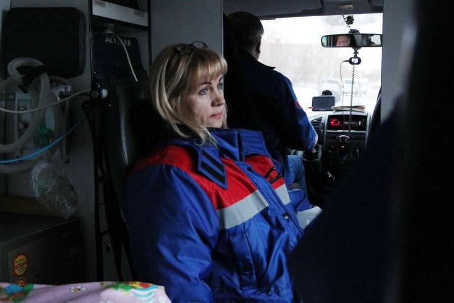 Фельдшер бригады интенсивной терапии Татьяна Анциферова