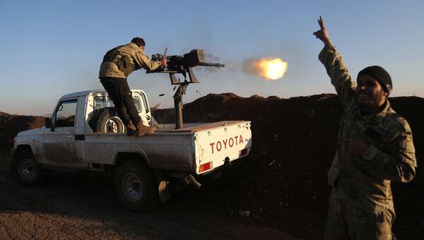 Боевики Сирийской свободной армии. Архивное фото