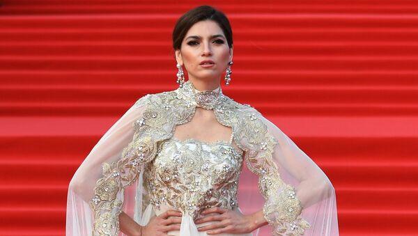 Актриса Бланка Бланко на церемонии открытия 40-го Московского международного кинофестиваля (ММКФ)