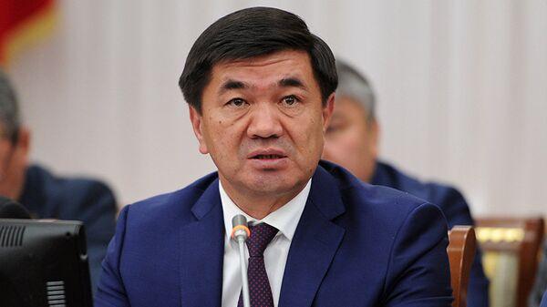 Премьер-министр Киргизии Мухаммедкалый Дуйшекеевич Абылгазиев