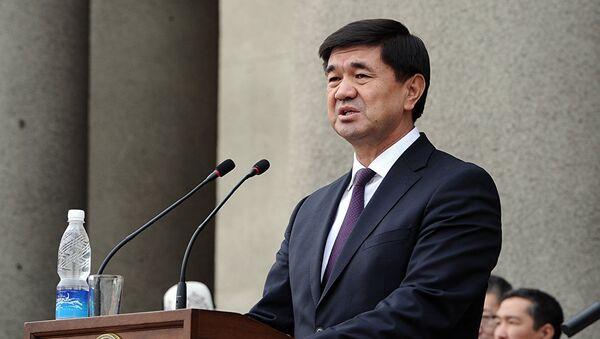 Премьер Киргизии Мухаммедкалый Дуйшекеевич Абылгазиев. Архивное фото