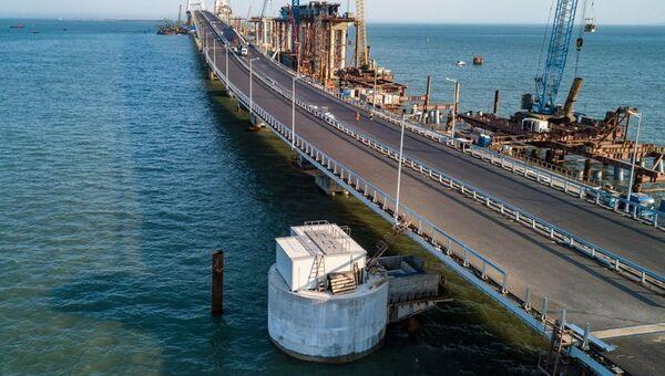 Создание локальных очистных сооружений на Крымском мосту