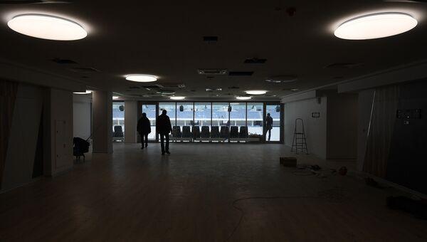 Внутреннее помещение стадиона Волгоград Арена